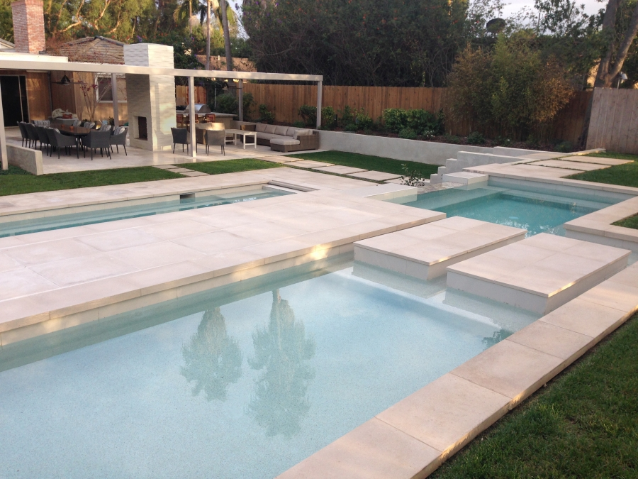 Swimming Pool Design and Water Feature or fountain design